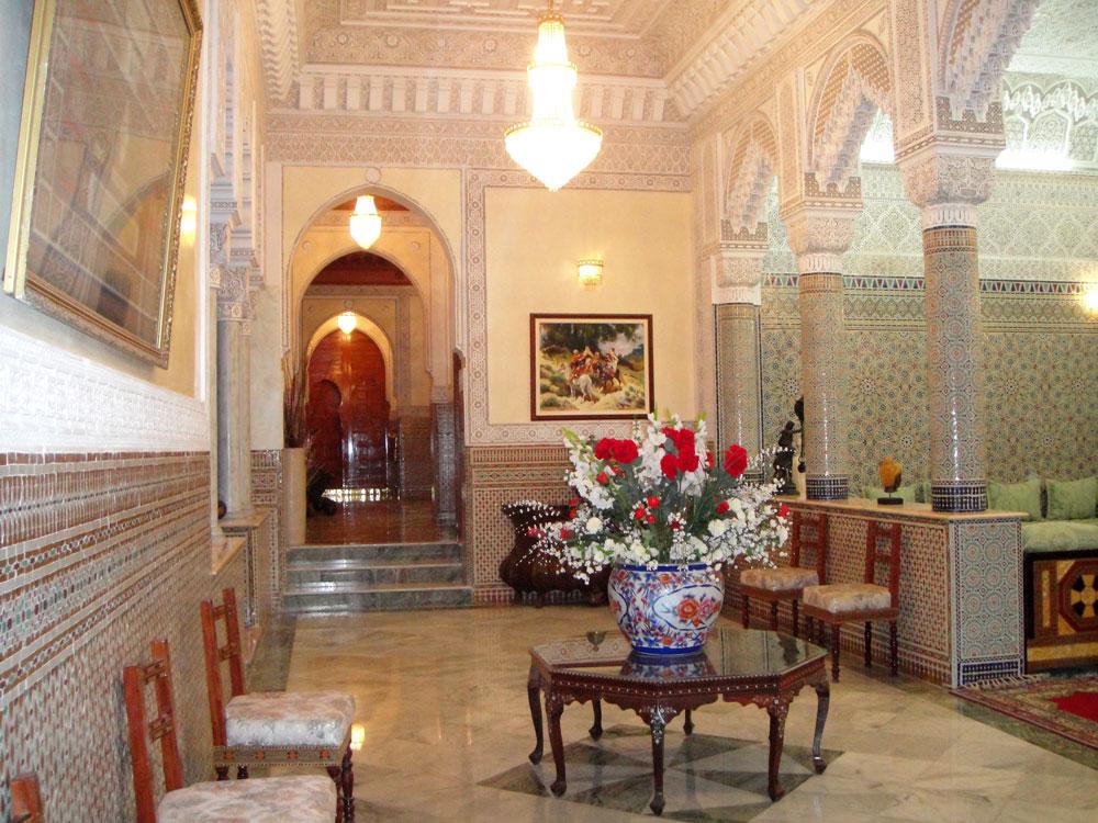 Interieur maison marocaine for Interieur villa